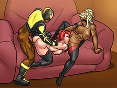 Interracial cartoon porn - Welcome to..